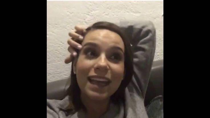 Tania Rincon en Facebook enseñando su pancita de embarazada