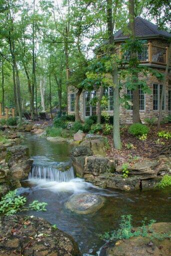 Beautiful backyard...Country Living Magazine