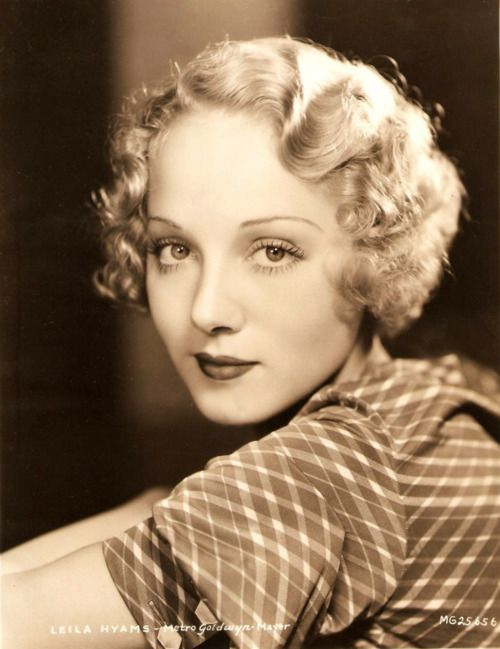 Leila Hyams, one of my favorite MGM actresses. She has a lot of the same charisma and acting chops as Naomi Watts.