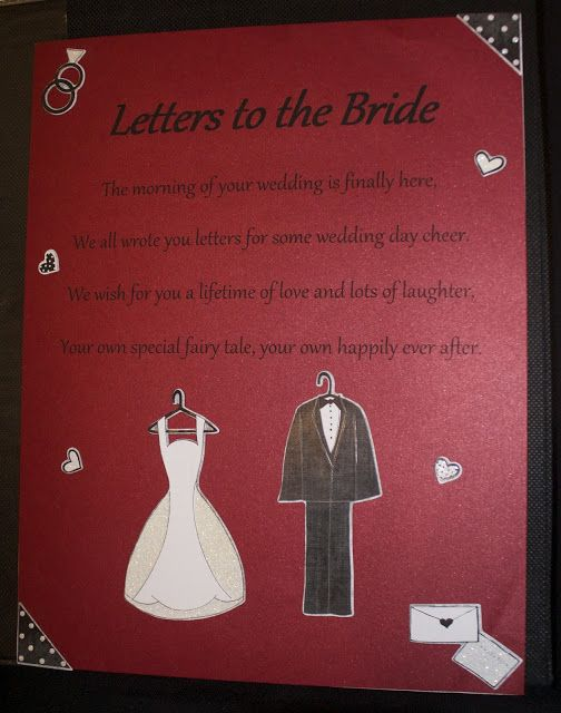 City Girl Meets Country Boy: A Unique Wedding Gift! Letters to the Bride! A great way for the bride to start her wedding day!