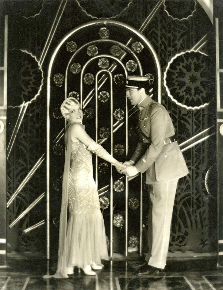 "Walter Pidgeon y Bernice Claire en ""Kiss Me Again"", 1931"