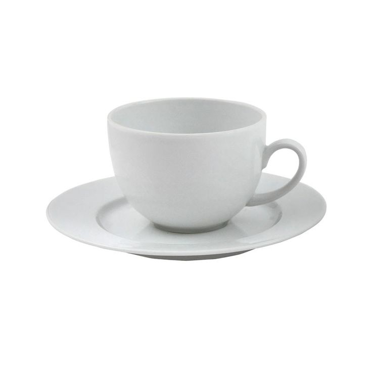 Havanna 7.5oz Tea Cup and Saucer - This plain white china blends in with the Sonata range and always looks crisp and clean. Available in large quantities. Choose from a wide selection of cutlery and glassware to suit the style of your event from traditional through to contemporary designs.