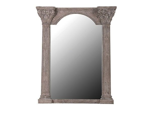 Speil i råbehandlet tre