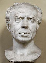 Marble bust of Gaius Marius (Chiaramonti Museum)