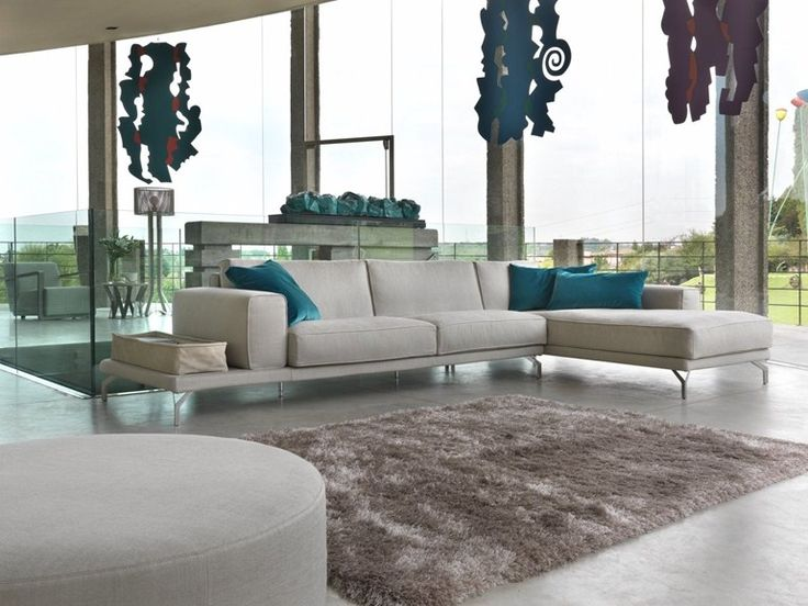 Fantastisch UPHOLSTERED SOFA WITH CHAISE LONGUE ONE BY KLAB DESIGN | DESIGN FAUSTO DI  MARTINO