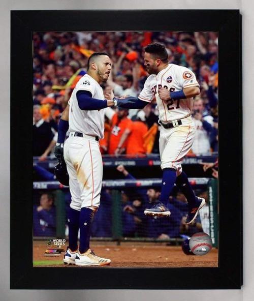 buy online 7e6bd 6db9b Framed The Houston Astros Carlos Correa & Jose Altuve ...
