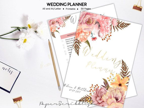 Gifts For Wedding Planning: 1000+ Ideas About Wedding Planner Book On Pinterest