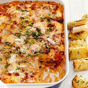 Lasagna better homes and gardens and home and garden on Better homes amp gardens recipes