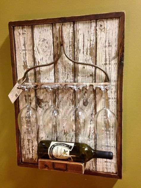 http://teds-woodworking.digimkts.com/ DYI is the best dyi woodworking awesome PinMaster Creations Old Rake Wine Rack
