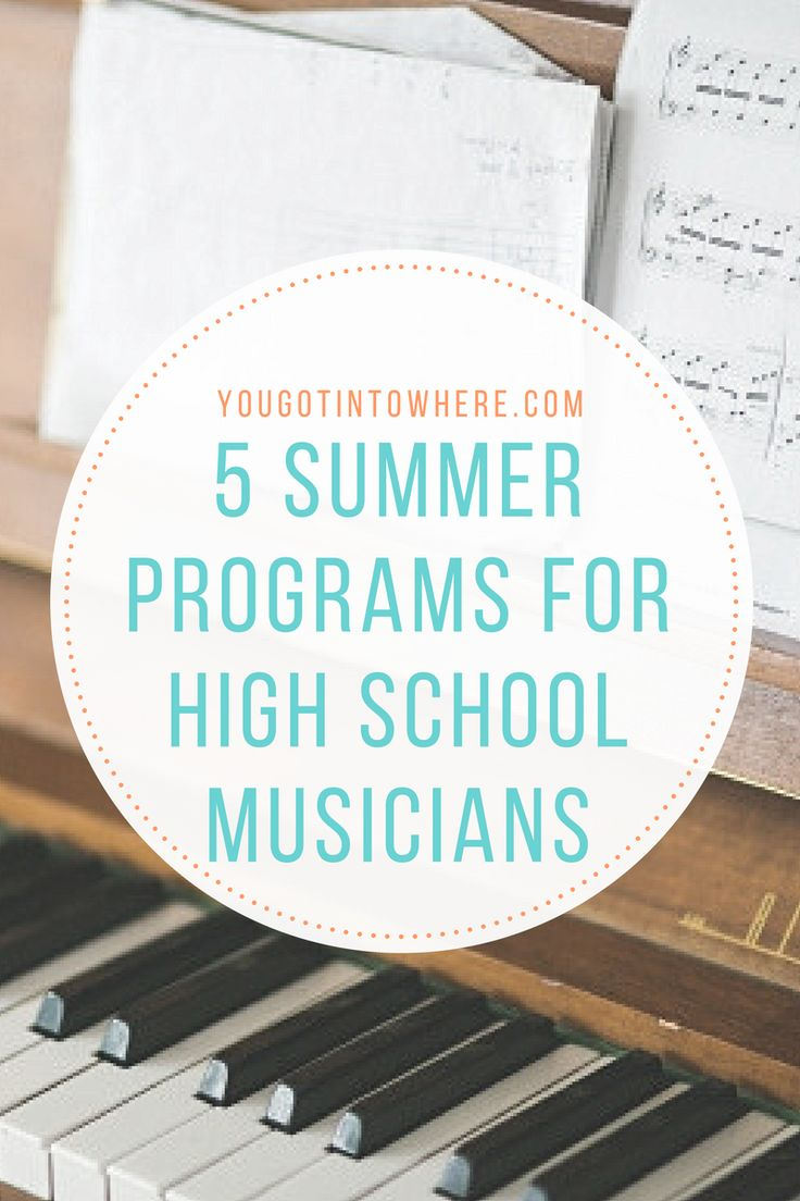 A conveniently compiled list of 5 summer programs for high school musicians. Many high school students use summer programs as a way to gain experience and knowledge in their desired field of study.…