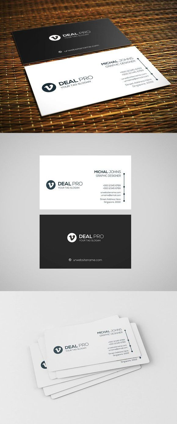Black White Business Card White Business Card Graphic Design Business Card Business Cards Creative