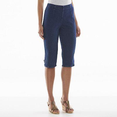 Croft & Barrow® Pull-On Capris - Women's