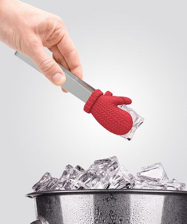 Look at this #zulilyfind! Cold Fingers Mitten Ice Tongs by Fred & Friends #zulilyfinds