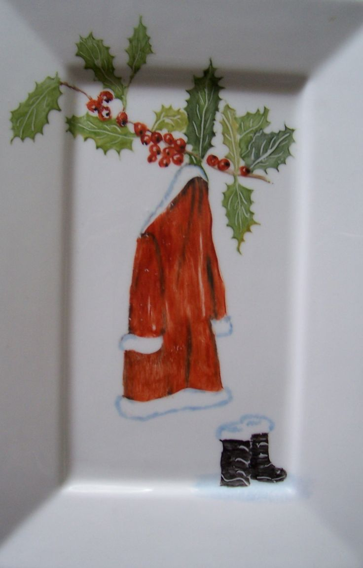 Kerstjas op schaaltje