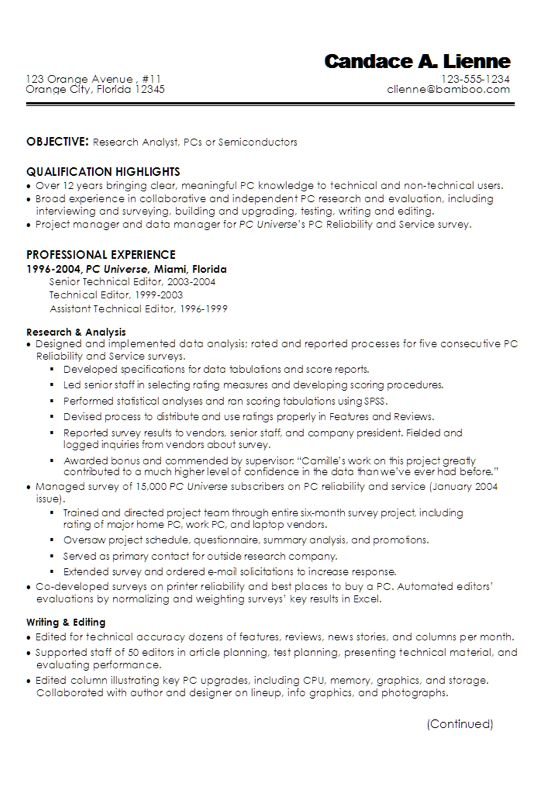 The 25+ best Technical writer ideas on Pinterest Technical - editorial researcher sample resume
