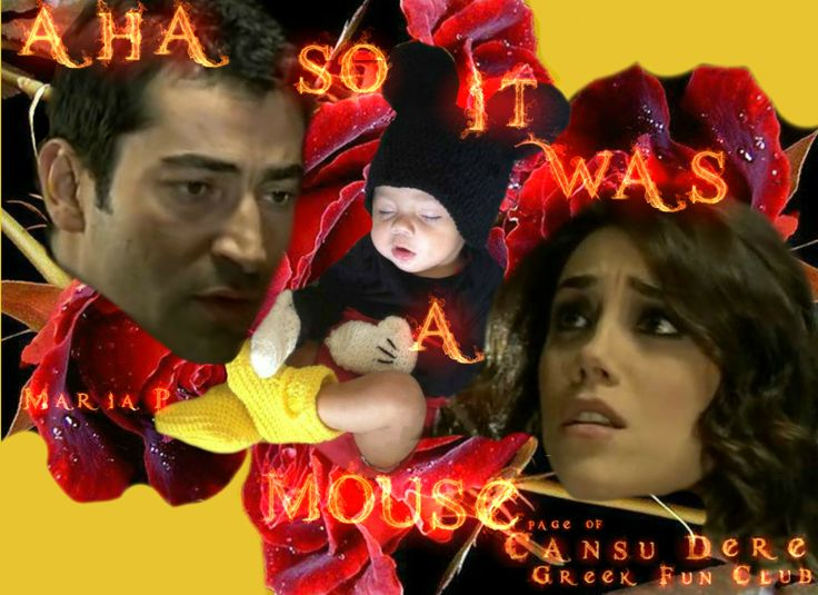Aha! so it was a Mouse!! #Ezel #Eyşan #CansuDere #Kenanİmirzalioğlu