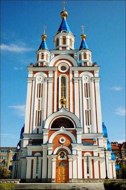 Khabarovsk City Church. Russia.