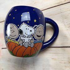 It's The Great Pumpkin Charlie Brown Coffee Mug Cup Snoopy Peanuts Halloween