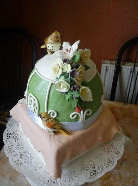 Ancika konyhája: Pillecukros cukormáz (fondant)