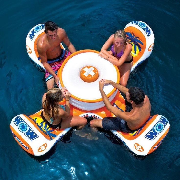 Island Table Float by WOW
