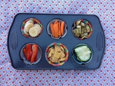 a whole blog of muffin tin meals