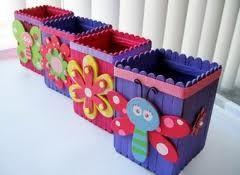 cajas con palitos de helado