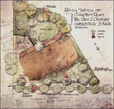 1000 images about edna walling landscape designer on for Site plan maker