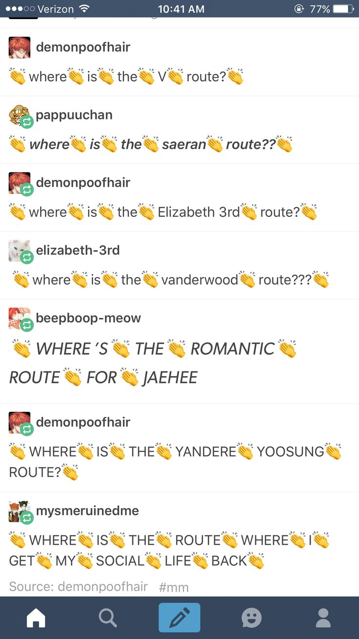 But seriously WHERE IS THE V ROUTE?