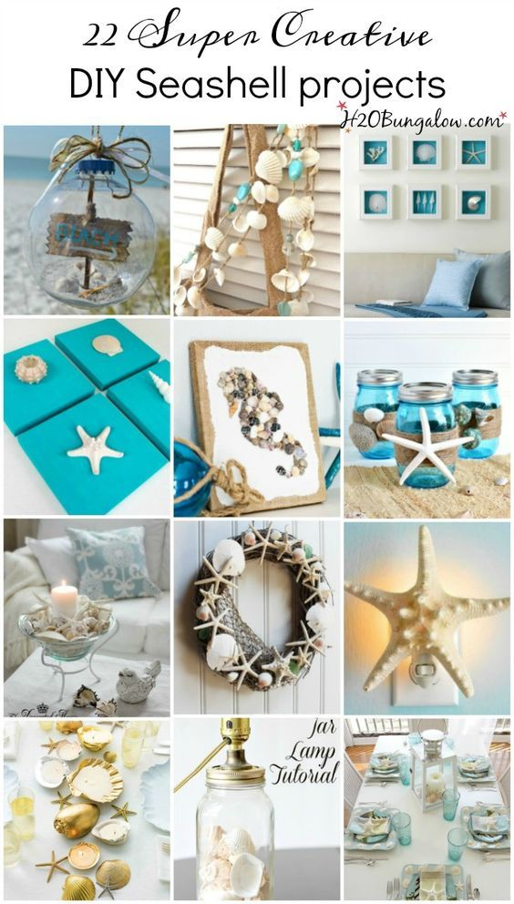 22 Creative DIY Seashell Projects You Can Make