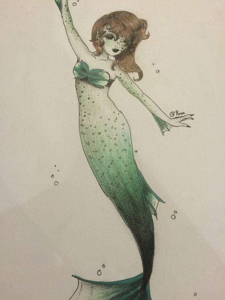 Deep sea mermaid