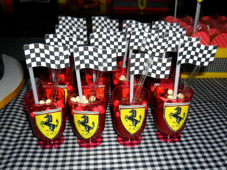 Ferrari Anniversary (Wedding) Party Ideas | Photo 3 of 17 | Catch My Party