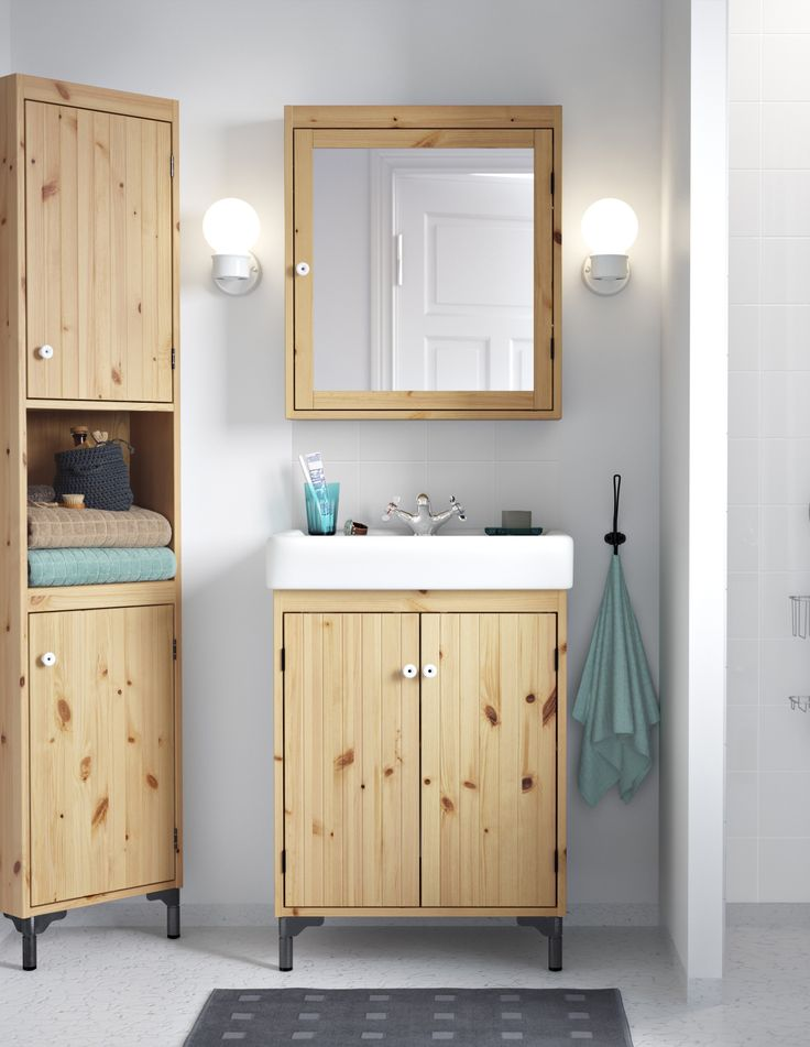 283 Best Images About Bathrooms On Pinterest Mirror Cabinets Ikea Ideas And Towels