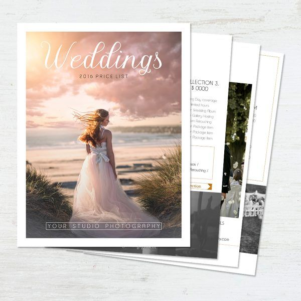 Designing a Pretty Price List can be hard. We have made it really easy and you can easily add your own text and pictures - Browse our many options here!