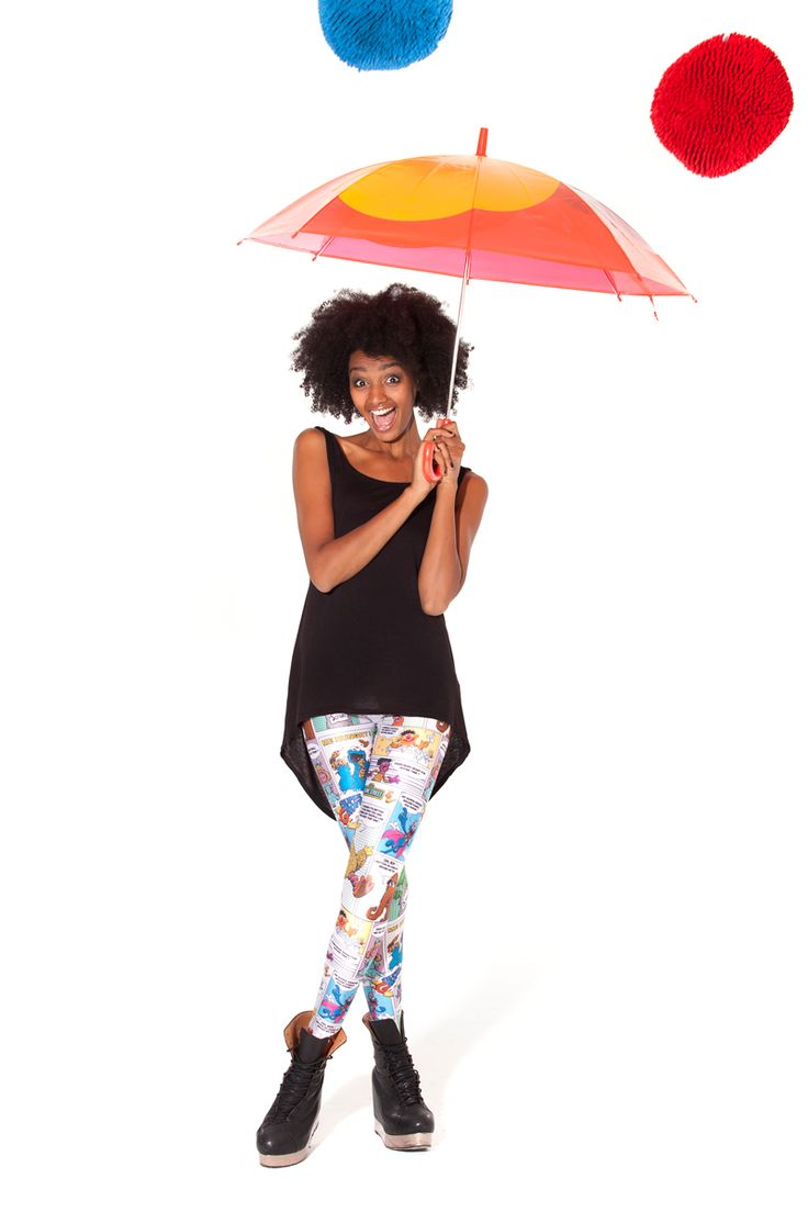 Super Sesame Leggings (Made To Order) by Black Milk Clothing
