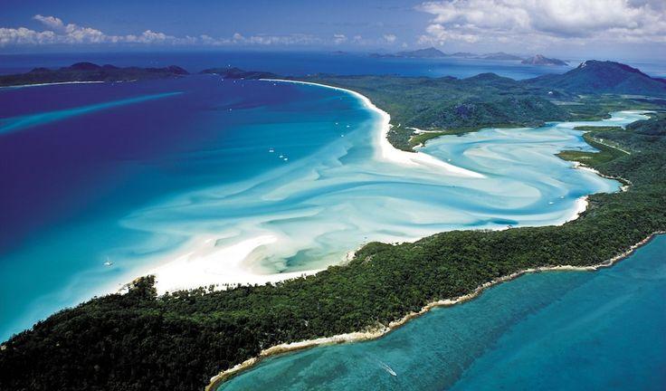 Whitehaven Beach, Whitsundays - East Coast Australia