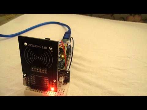 Arduino RFID Door Access - YouTube