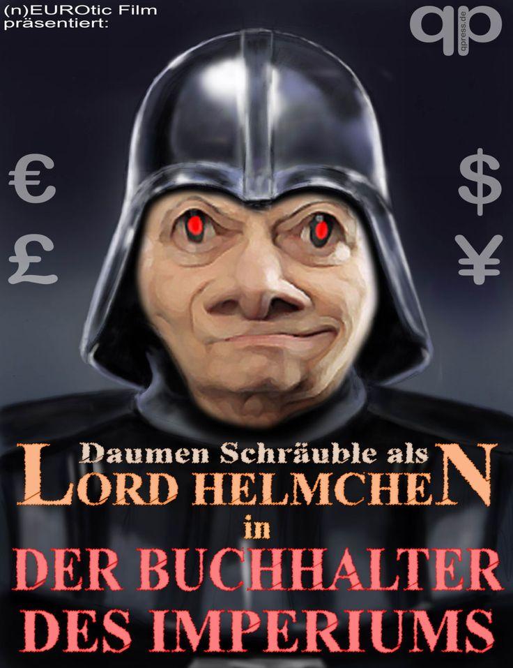 ❌❌❌ Die Politik geht oftmals seltsame und für den Bürger unergründliche Wege. Wir wissen auch, dass Funktionsträger natürlich nicht vom Volk gewählt werden, sondern die werden meistens nach ganz dubiosen Kriterien in irgendwelchen Hinterzimmern ausgekungelt. Um aber der internationalen Bedeutung Deutschlands gerecht zu werden, kann kein geringerer als Goldman & Sucks Chef Blankfein die Finanzgeschäfte hier übernehmen … und proben kann man so etwas in der Ukraine. ❌❌❌