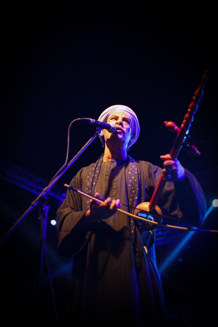 Salama Metwally au Rababa © Benjamin Favier