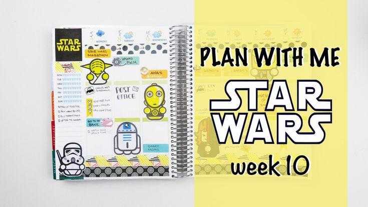 Plan with me - STAR WARS theme Wk.10