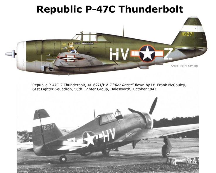 P-47C Thunderbolt