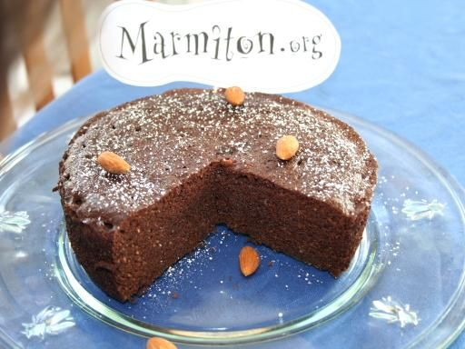 Recette American chocolate cake au micro-ondes