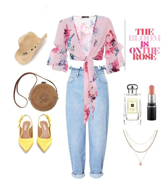 """""""Pink bloom"""" by penkreitto on Polyvore featuring Miss Selfridge, Tabitha Simmons, Luv Aj, Jo Malone and Treasure & Bond"""