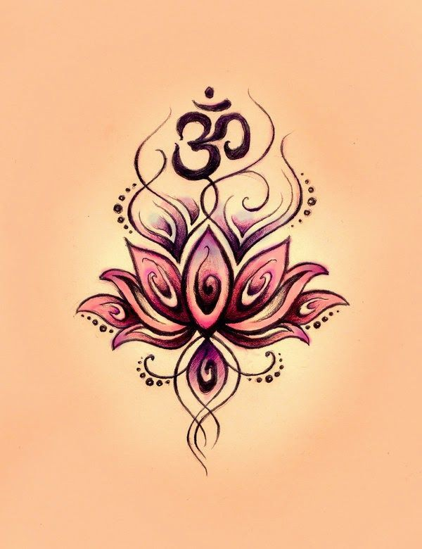 Gemini Symbol Tattoos with Flowers