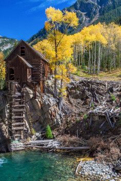 Crystal Ghost Town, Crystal River, Colorado...a gorgeous abandoned ghost town ...How did I miss this one on many travels through ghost towns of the west?.....vwr