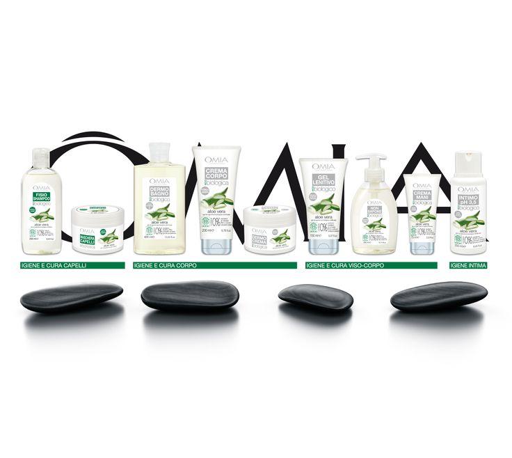 Gamma intera di prodotti della Linea eco bio all'aloe vera