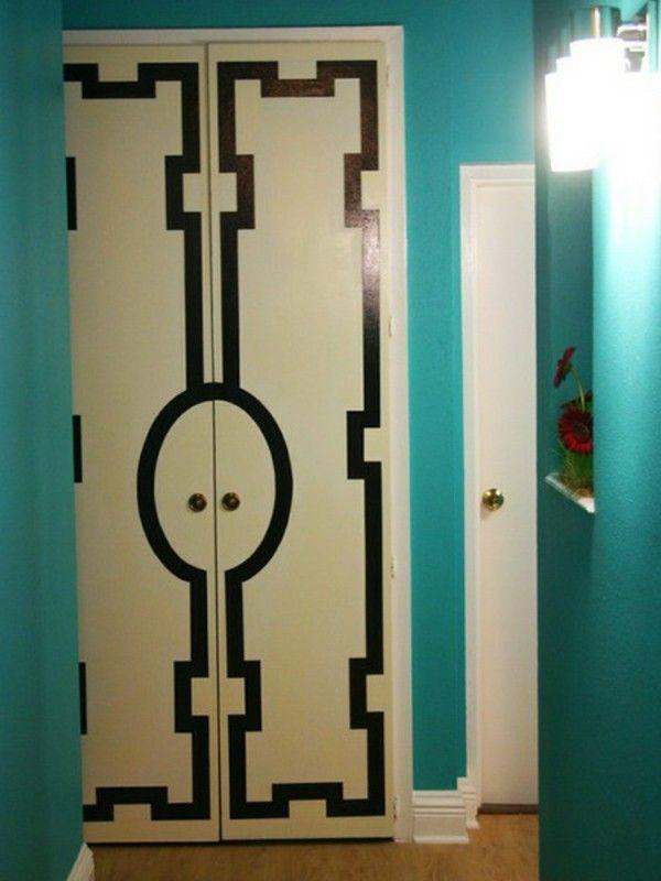 Bentuk Bentuk Geometris Pada Pintu Lemari