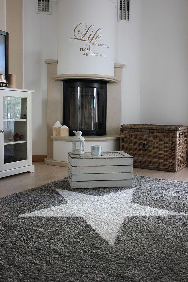 """Der benuta Teppich Graphic Star. Gesehen auf """"Home Shabby Home"""" #benuta #teppich #interior #rugs"""