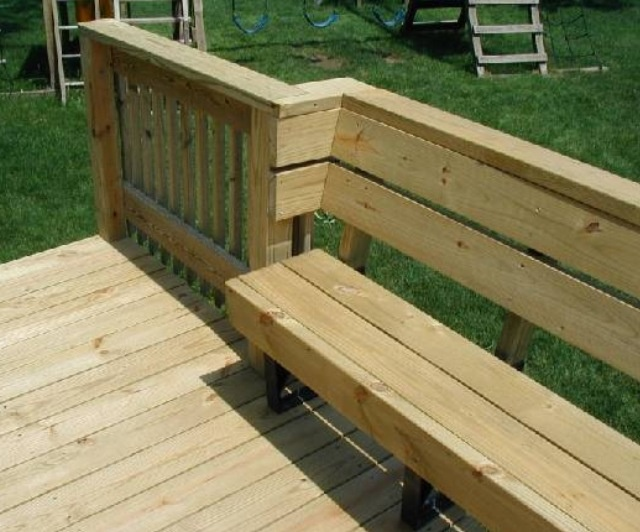 Best 2X4 Bench From Prefab Brackets Showing How To Incorporate 400 x 300