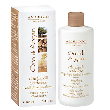 Olio capelli lucidante / setificante all' ARGAN /JOJOBA - 100 ml
