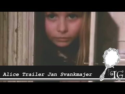 Alice Trailer Jan Svankmajer 1988 Něco z Alenky - YouTube